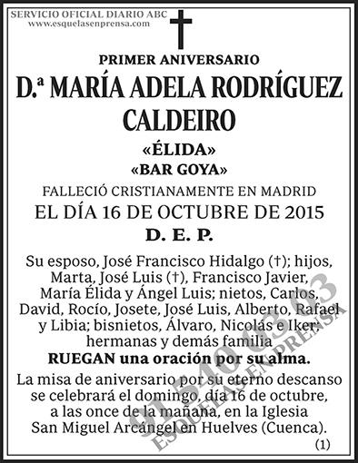 María Adela Rodríguez Caldeiro